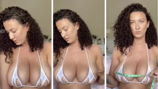 Joeyfisher Boob Measuring Time Video