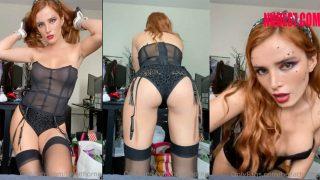 Bella Thorne Onlyfans Black Lingerie Video Leaked