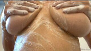 Ashley Tervort soapy shower