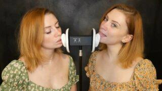 Jodie Marie ASMR Twin Ear Licking Patreon Video